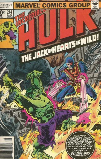 Incredible Hulk Volume 2 #214