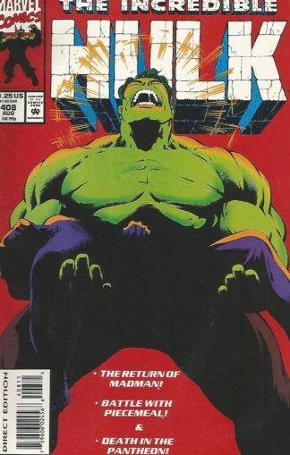 Incredible Hulk Volume 2 #408