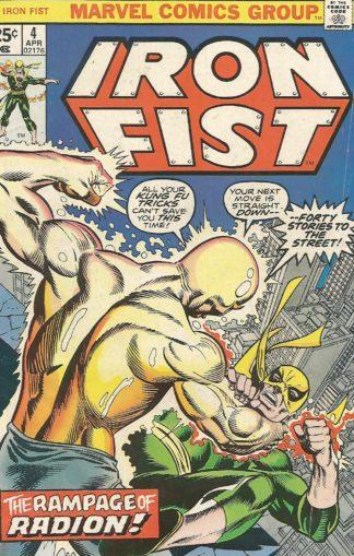 Iron Fist #004