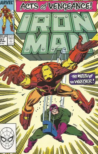 Iron Man #251