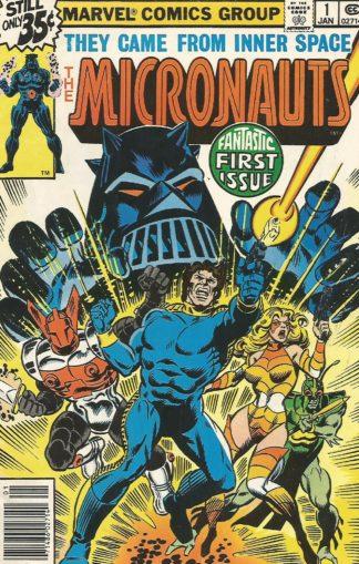 Micronauts #001