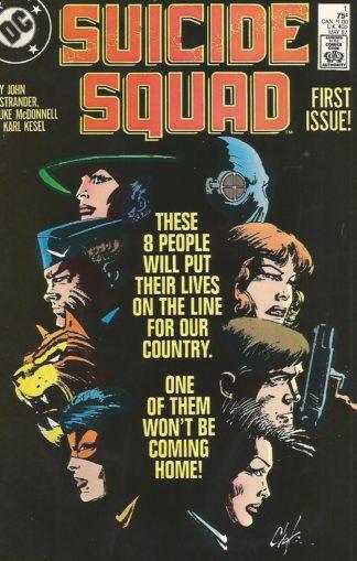 Sucide Squad #001