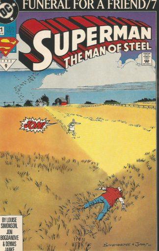Superman The Man of Steel #21