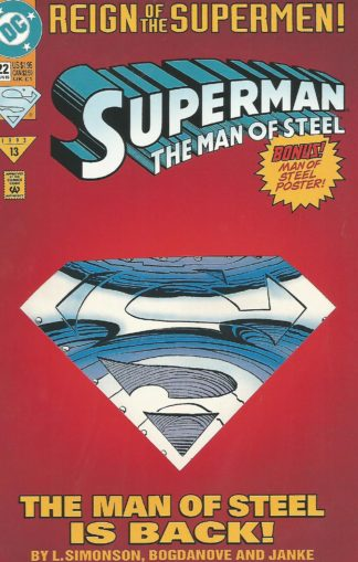 Superman The Man of Steel #22