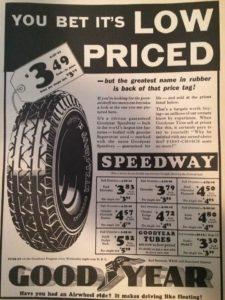 1932 Goodyear Ad