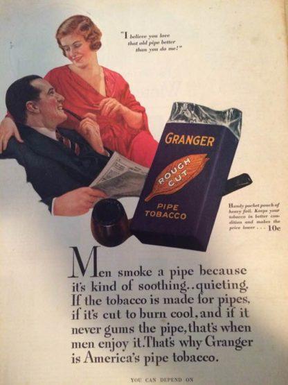 1932 Granger Tobacco Ad
