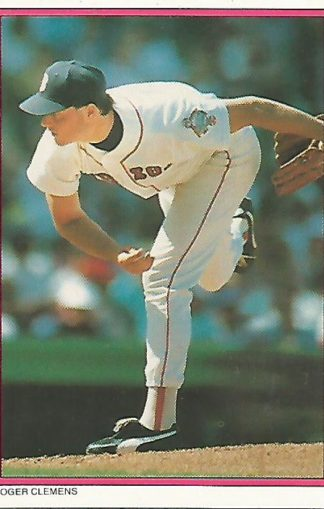 1988 Topps Glossy Send-Ins #013 Roger Clemens