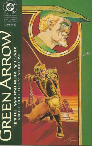 Green Arrow The Wonder Year #01