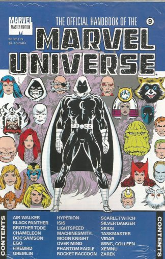 Official Handbook of the Marvel Universe Master Edition #09