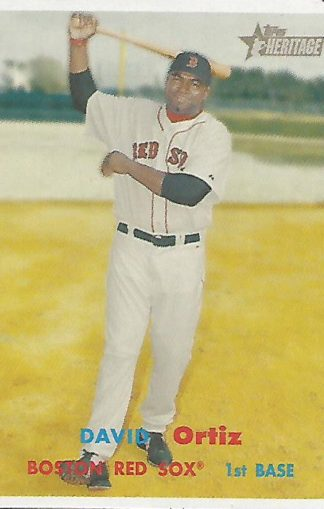 2006 Topps Heritage #001 David Ortiz SP