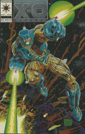 X-O Manowar #000