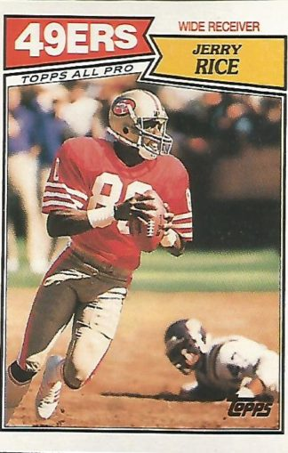 1987 Topps #115 Jerry Rice