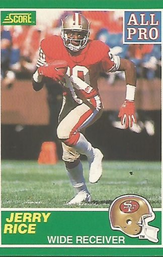 1989 Score #292 Jerry Rice All-Pro