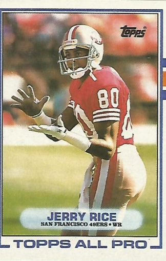 1989 Topps #007 Jerry Rice