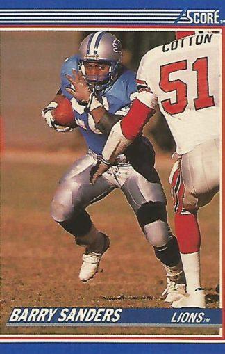 1990 Score #20 Barry Sanders
