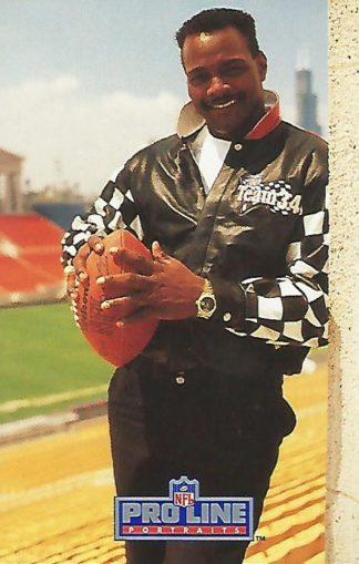 1991 Pro Line Portraits #215 Walter Payton