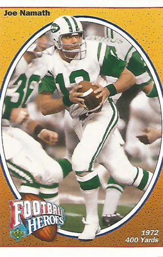 1991 Upper Deck Joe Namath Heroes #016