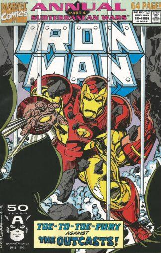 Iron Man Annual #012
