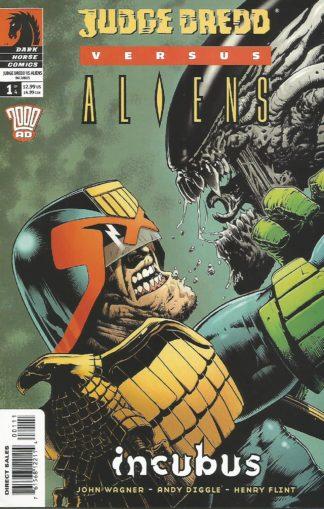 Judge Dredd Aliens Incubus #001