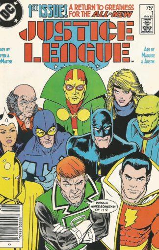 Justice League #001