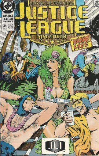 Justice League America #034