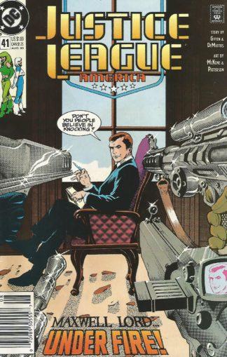 Justice League America #041