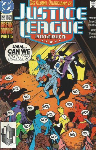 Justice League America #055
