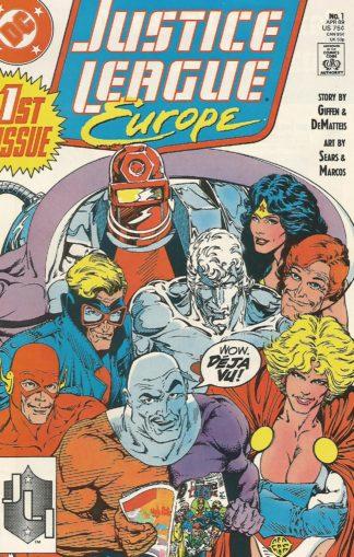 Justice League Europe #001