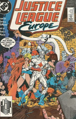 Justice League Europe #003