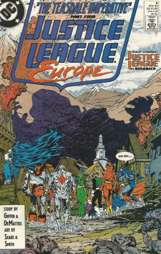 Justice League Europe #008