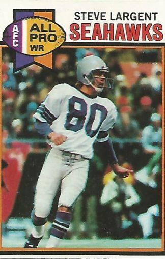 1979 Topps #198 Steve Largent
