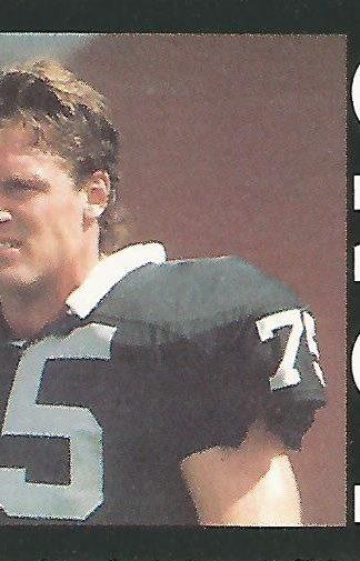 1985 Topps #292 Howie Long