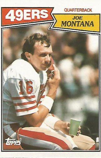 1987 Topps #112 Joe Montana
