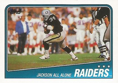 1988 Topps #325 Bo Jackson Team Leader