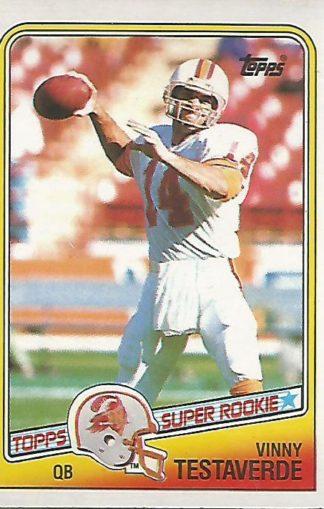 1988 Topps #352 Vinny Testaverde Rookie