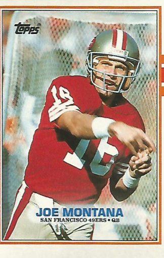 1989 Topps #012 Joe Montana