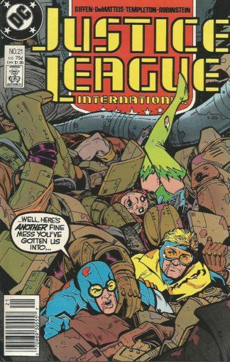 Justice League International #021