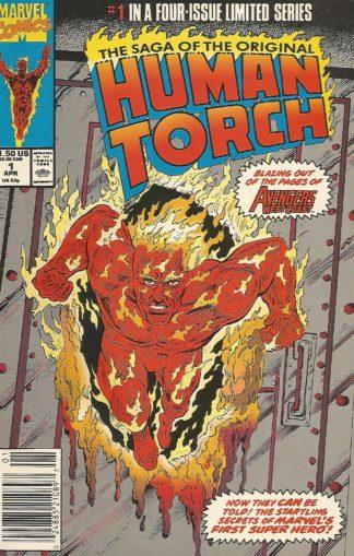 Saga of the Original Human Torch #001