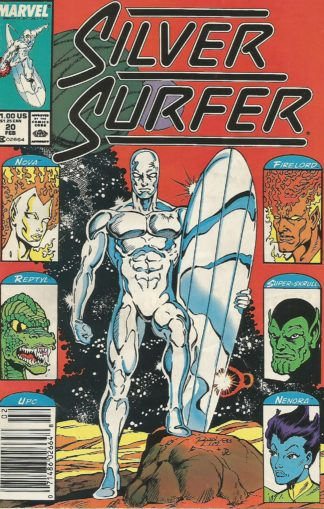 Silver Surfer Volume 3 #020