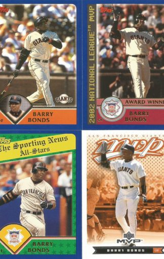 Barry Bonds Giants Assortment