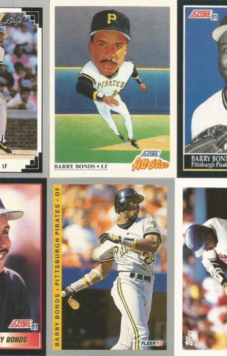 Barry Bonds Pirates Assortment (2)