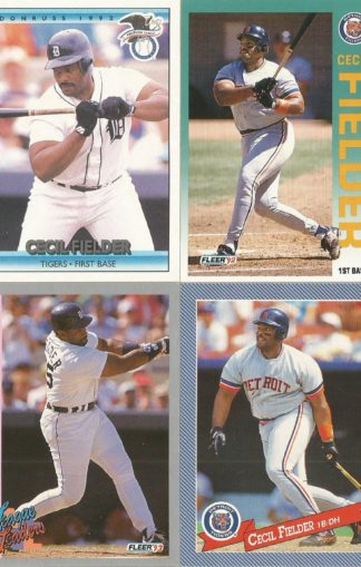Cecil Fielder Assortment (2)