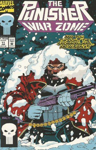 Punisher War Zone #011