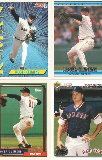 Roger Clemens Assortment (3)