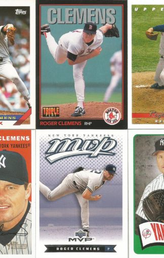 Roger Clemens Assortment (4)