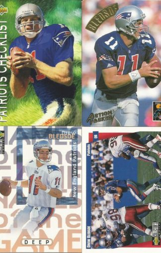 Drew Bledsoe Cards Lot 1