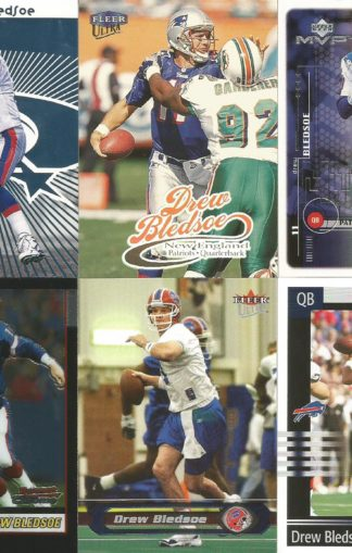 Drew Bledsoe Cards Lot 3