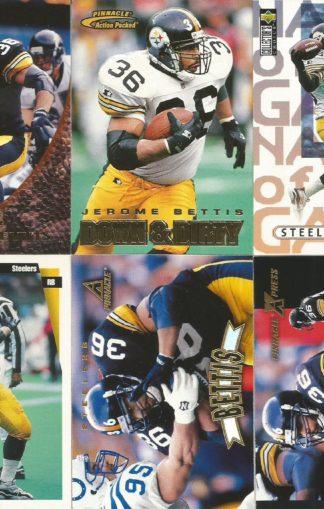 Jerome Bettis Cards Lot 2