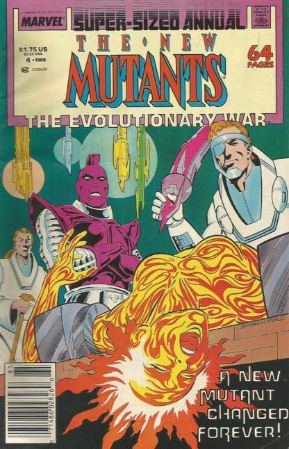 New Mutants Annual #4