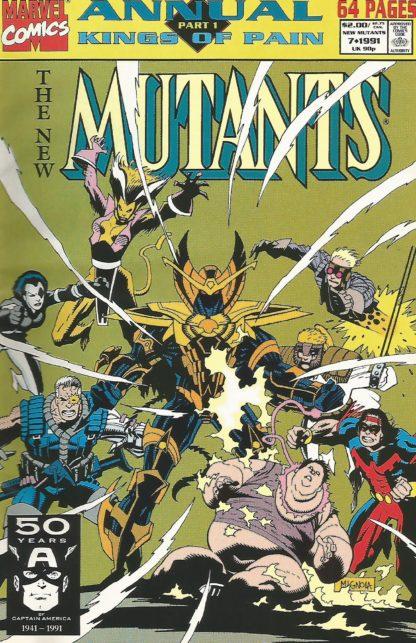 New Mutants Annual #7